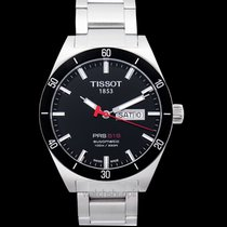 Tissot Automatic Black Dial Men's Watch 42 mm - T044.430.21.