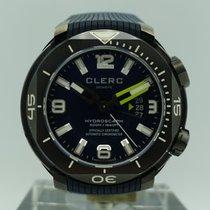 Clerc Chronometer 48mm Automatik gebraucht Hydroscaph H1 Chronometer Blau