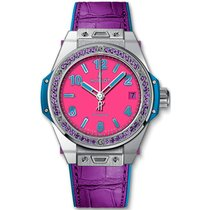Hublot Big Bang Pop Art pre-owned 39mm Steel