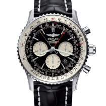 Breitling Navitimer Rattrapante Steel 45mm Black No numerals United States of America, New York, New York