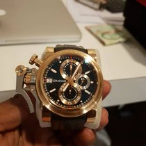Graham Rose gold 47mm Automatic 2OVCF.B08A.C83T pre-owned Malaysia, Petaling Jaya