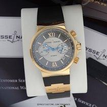 Ulysse Nardin Marine Chronograph Rose gold 41mm Grey
