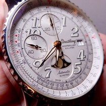 Breitling Montbrillant Steel 41mm Silver Arabic numerals United States of America, North Carolina, Winston Salem
