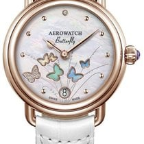 AEROWATCH 44960 RO05 BUTTERFLY 2018 new