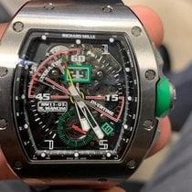 Richard Mille RM 011 Titanium 42.70mm Transparent Arabic numerals United States of America, New York, New York