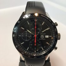 TAG Heuer Carrera Calibre 16 Stål 41mm Svart Ingen tall