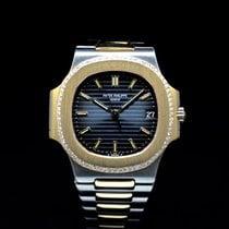 Patek Philippe 3800 Gold/Steel 1992 Nautilus pre-owned