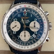 Breitling Navitimer Steel 42mm Blue