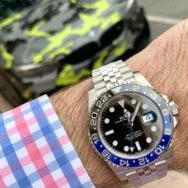 Rolex Staal Automatisch Zwart Geen cijfers 40mm nieuw GMT-Master II