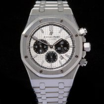 Audemars Piguet Royal Oak Chronograph Steel 41mm Silver No numerals United Kingdom, Macclesfield