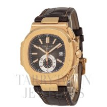 Patek Philippe 5980R-001 Rose gold Nautilus 40.5mm pre-owned United States of America, New York, Hartsdale