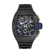 Richard Mille RM 011 Carbon 49.94mm Transparent Arabic numerals United States of America, New York, New York
