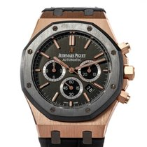 Audemars Piguet Royal Oak Chronograph Oro rosa 41mm Grigio