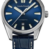 Louis Erard La Sportive Steel 42mm Blue