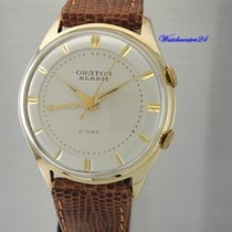 Orator Yellow gold 35mm Manual winding pre-owned