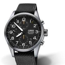 Oris Big Crown ProPilot Chronograph Steel Black