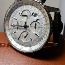 Breitling Navitimer Steel 42mm Silver United States of America, North Carolina, Winston Salem