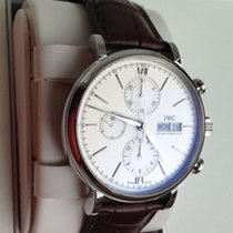 IWC IW391007 Steel 2020 Portofino Chronograph 42mm new