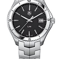 TAG Heuer Link Quartz Steel 40mm Black No numerals