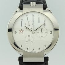 Movado Elliptica Staal 40mm Wit Arabisch