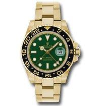 Rolex Жёлтое золото Автоподзавод Зелёный 40mm новые GMT-Master II