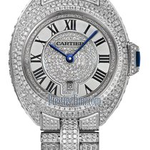 Cartier Clé de Cartier White gold 31mm Mother of pearl United States of America, New York, Airmont
