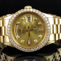 Rolex 18K Mens Yellow Gold Rolex President 1803 Day-Date 36MM...