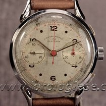 Election Chronometre Vintage 1940`s Cornes-de Vache 38mm...