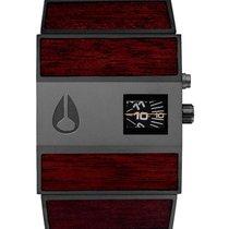 Nixon A028-1107 Rotolog Dark Wood Black 35mm 3ATM