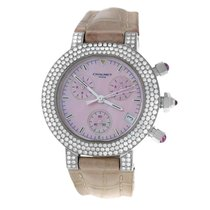 Chaumet Witgoud Quartz Parelmoer 40mm tweedehands