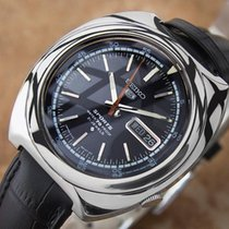Seiko 5 Sports Inner Rotating Bezel Rare Stainless Steel Auto...