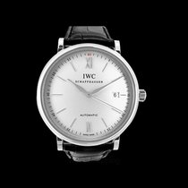 IWC Portofino Automatic Silver Steel/Leather 40mm - IW356501