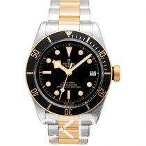 Tudor Heritage Black Bay S&G Black Steel/Yellow Gold 41mm -...