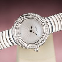 Cartier pre-owned Quartz 26mm Silver Sapphire Glass 3 ATM