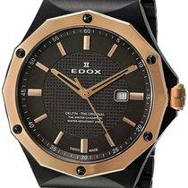 Edox 35mm Quartz new Brown