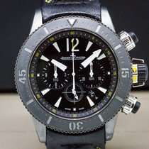 Jaeger-LeCoultre Master Compressor Diving Chronograph GMT Navy SEALs pre-owned 46.3mm Titanium