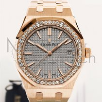 Audemars Piguet Royal Oak Lady Oro rosado 37mm Gris