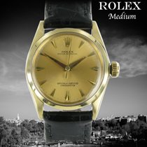 Rolex Or jaune Remontage automatique Or Sans chiffres 31mm occasion Oyster Perpetual 31