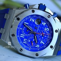 Audemars Piguet Royal Oak Offshore Chronograph Сталь 42mm Синий Aрабские