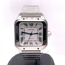 Cartier Santos (submodel) Steel 35mm Silver United States of America, New York, New York