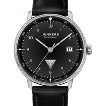 Junkers Bauhaus Steel 40mm Black Arabic numerals