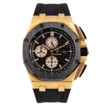 Audemars Piguet Royal Oak Offshore Chronograph Roséguld 44mm Svart Inga siffror