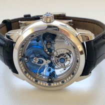 Ulysse Nardin Royal Blue Tourbillon Platinum 41mm Transparent No numerals