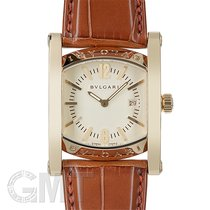 Bulgari Assioma pre-owned 29.5mm White Leather