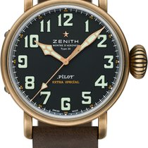 Zenith 29.2430.679/21.C753 Bronze 2019 Pilot Type 20 Extra Special 45mm new United States of America, Florida, Sunny Isles Beach