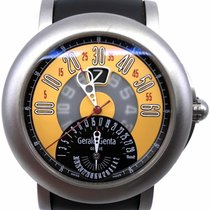 Gérald Genta Arena Bi-Retro Titanium 46mm Yellow Arabic numerals United States of America, Florida, Naples