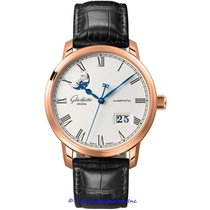 Glashütte Original Senator Panorama Date Moon Phase 100-04-32-15-04 new