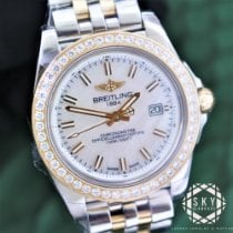 Breitling Galactic 32 Gold/Steel 32mm Mother of pearl No numerals United States of America, New York, New York