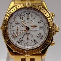 Breitling Crosswind Racing Yellow gold White Roman numerals