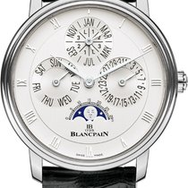 Blancpain Villeret White gold 38mm Silver United States of America, New York, Airmont